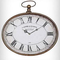 Oversized Pocket Watch Wall Clock | PLASTICLAND