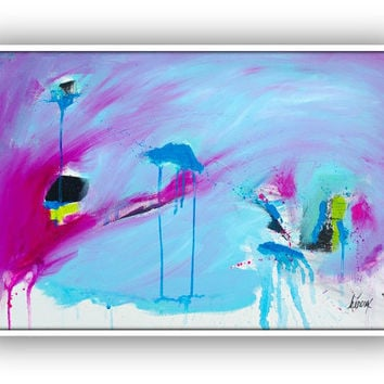 Original painting - Original Abstract painting - Large Wall art on canvas - Modern Art Painting