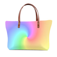 Beautiful Duo Tones Tote Bag