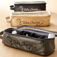 Miamica Electronics and Charger Organizer Large Take Charge