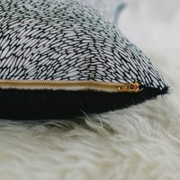 Smoky Rain Pillow | Shop Letitia Elizabeth