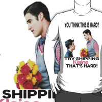 Try shipping... That's hard!- KLAINEtransparent TEE