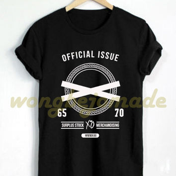 XO The Weeknd Shirt Drake Weekend ovoxo Official Issue Tshirt Black Grey and White Color T-Shirt