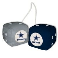 Nfl Dallas Cowboys Fuzzy Dice