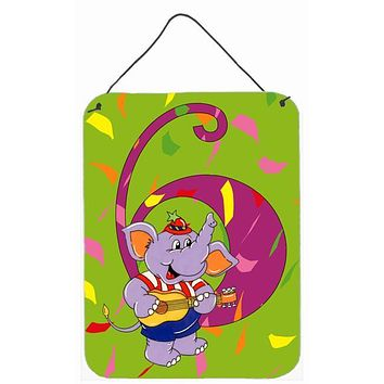Happy 6th Birthday Age 6 Wall or Door Hanging Prints APH2164DS1216