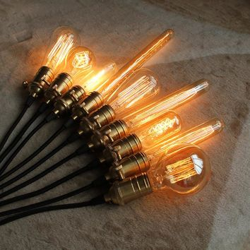 Loft Vintage Edison Bulbs ST64/G95/G80 E26/E27 Incandiscent Light Bulbs