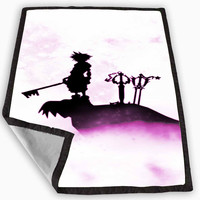Kingdom Hearts The Power Of Light and Dark Blanket for Kids Blanket, Fleece Blanket Cute and Awesome Blanket for your bedding, Blanket fleece *