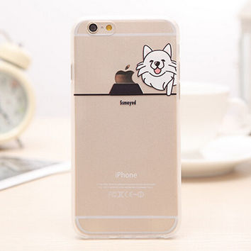 Cute Dog iPhone 5s 6 6s Plus Case Gift-99