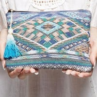 Perfectly Pretty Embellished Clutch by Love Stitch