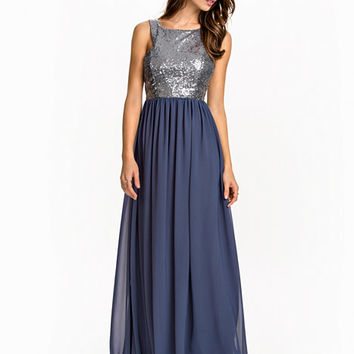 Flowy Sequin Dress, NLY Eve