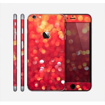 The Unfocused Red Showers Skin for the Apple iPhone 6 Plus