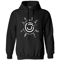 Uzumaki clan eight trigrams naruto shippuden hoodie