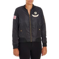 Bomber Jacket w/ Patches - Juniors 110143177