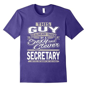 Secretary Shirt Gift For Boyfriend Husband Fiance Lover 1