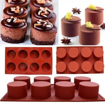 DIY Silicone Cupcake Mold Muffin Chocolate Cake Candy Cookie Baking Mould Pan Tools