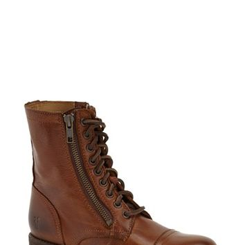 Women's Frye 'Tyler' Double Zip Military Boot,
