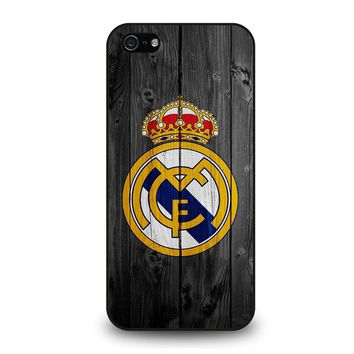 REAL MADRID FOOTBALL SOCCER TEAMS iPhone 5 / 5S / SE Case