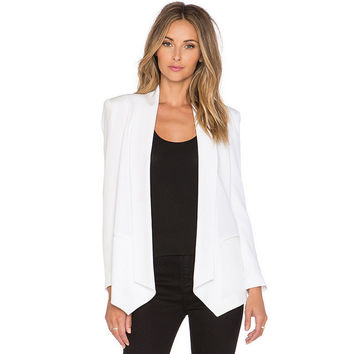 White Long Sleeve Suit