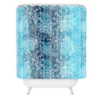 Heather Dutton Frost Shower Curtain