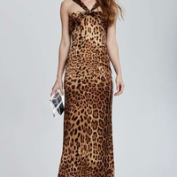 Vintage Dolce & Gabbana Collegno Leopard Dress