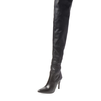 Charles David Women's Katerina Over The Knee Boot - Black -