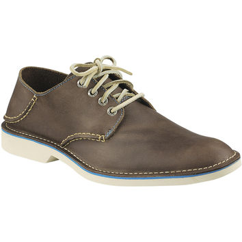 Sperry Top-Sider Harbor Plain Toe Shoe - Men's Dark Brown,