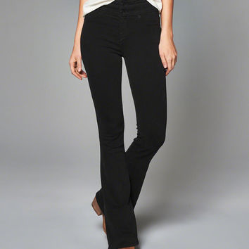 Womens High Rise Skinny Flare Jeans | Womens Bottoms | Abercrombie.com