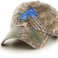 NFL Detroit Lions Real Tree Clean Up Adjustable Hat