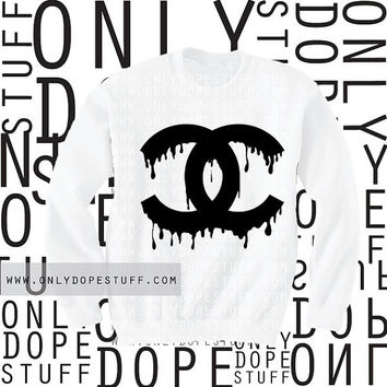 Chanel Drip Sweatshirt