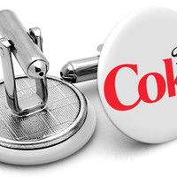 Diet Coke Cufflinks
