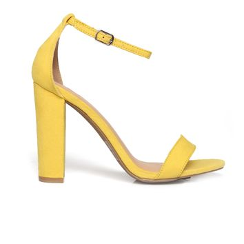 Sunshine Fine Heel - Yellow