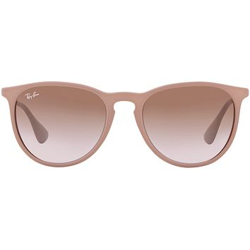 Ray-Ban Erika in Dark Rubber Sand