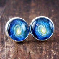 Space Swirl Earrings