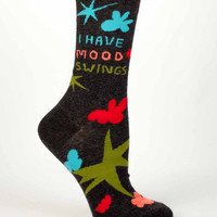 I Have Mood Swings Women's Crew Socks
