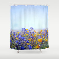 Life Is Beautiful Shower Curtain by Shawn King