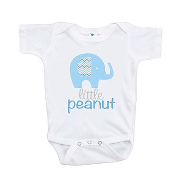 Custom Party Shop Baby Boy's Elephant Little Peanut Onepiece
