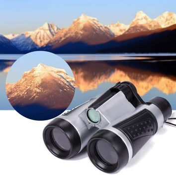 1X Hot Mini Pocket Binoculars Telescope For Children Toy Travel Outdoor Camping Funny Free Shipping