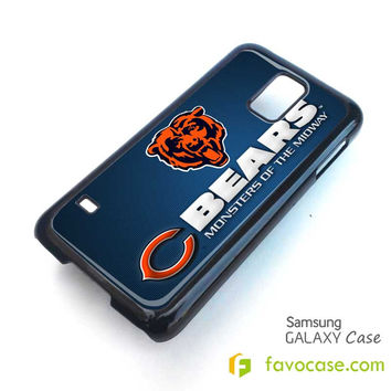 CHICAGO BEARS Football Team NFL Samsung Galaxy S2 S3 S4 S5, Mini, Note, Tab Case Cover