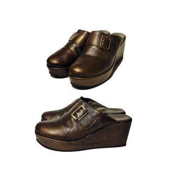 Women's Shoes, mules, clogs, platforms, platform shoes, leather shoes, Italian, ladies shoes