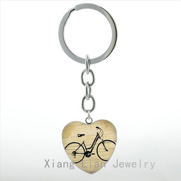 Bicycle Keychain - Free Shipping