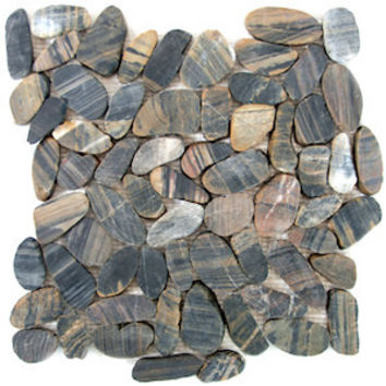 Bengal Sliced Pebble Tile
