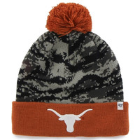 Texas Longhorns '47 Brand Tigershade Beanie – Gray