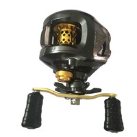 12+1BB Gear Ratio 6.3:1 Right Left Hand Baitcasting Reel Fishing Fly High Speed Fishing Reel With Magnetic Brake System BHU2