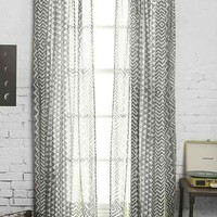 Magical Thinking Stamp-Stripe Curtain-