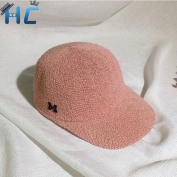 2016 Japanese Style Summer Mesh Snapback Baseball Caps Letter M Equestrian Cap For Women Girls Outdoor Sun Hat Bone Casquette