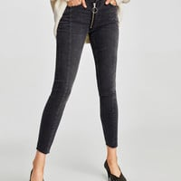 THE SKINNY STYLO NICOLE JEANS DETAILS