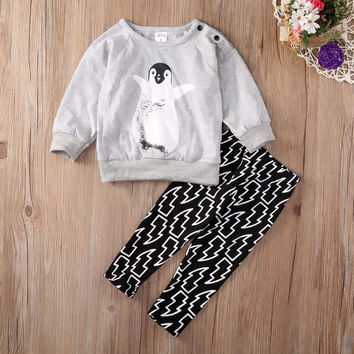 Penguin Sweater - Two Piece Set