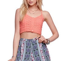 LA Hearts High Rise Skater Shorts at PacSun.com