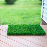 Artificial Grass Doormat - Welcome Mat For Entrance Way - Outdoors and Indoors