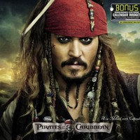 2013 Pirates of the Caribbean Wall Calendar